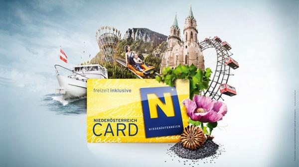 Werbesujet der Niederösterreich Card